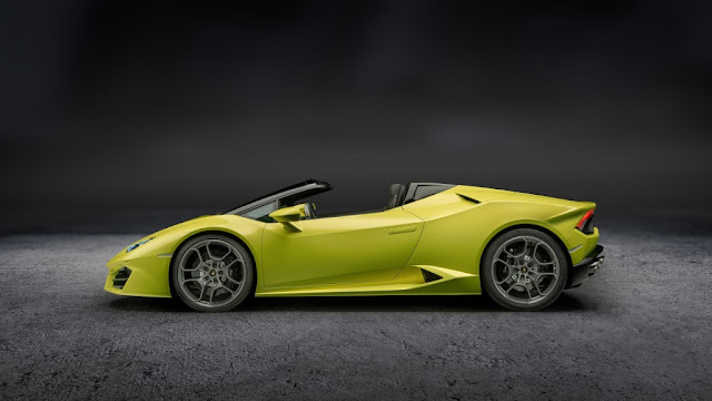 Lamborghini Huracán LP 580-2 Spyder 2017 - Con un genuino V10