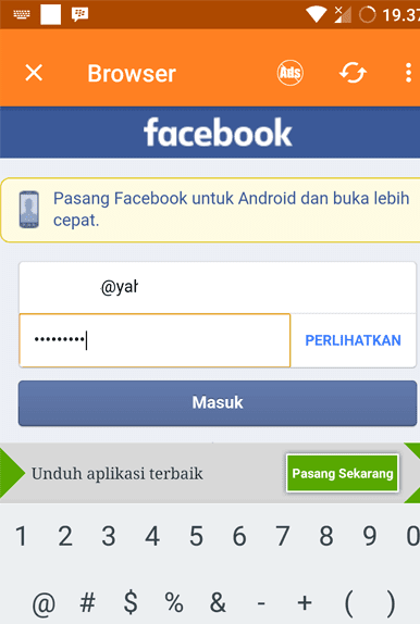 Login FB video downloader facebook 2