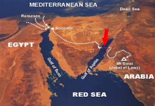 Bukti Nabi Musa Membelah Laut