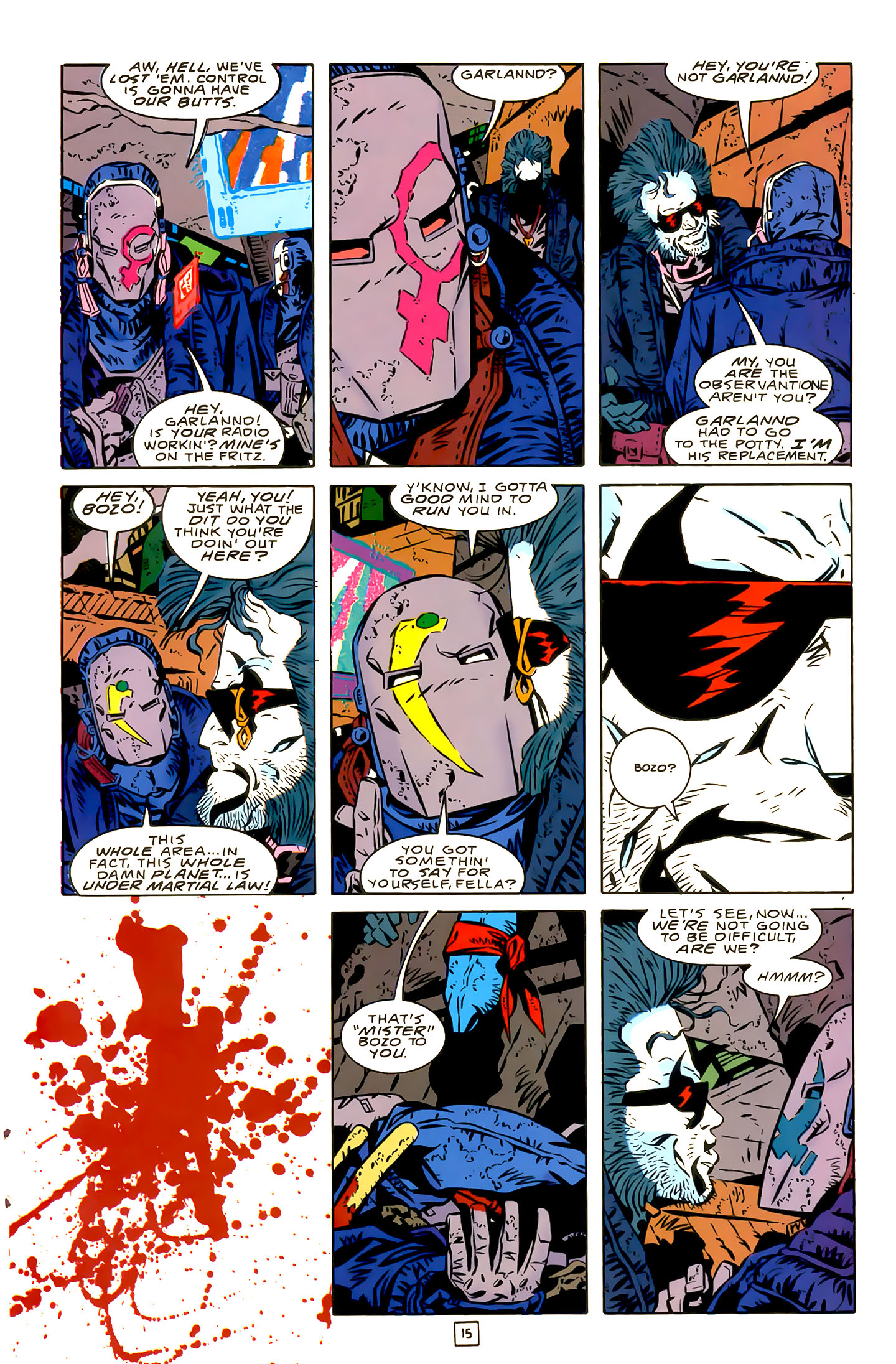 Legion of Super-Heroes (1989) 22 Page 15