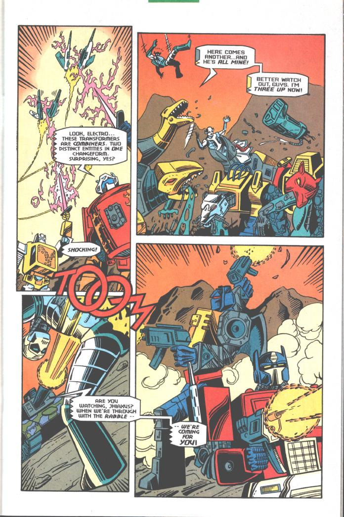 Read online Transformers: Generation 2 comic -  Issue #10 - 9