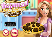 Rapunzel cooking homemade Chocolate