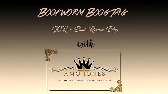 BookWorm Book Tag with Amo Jones