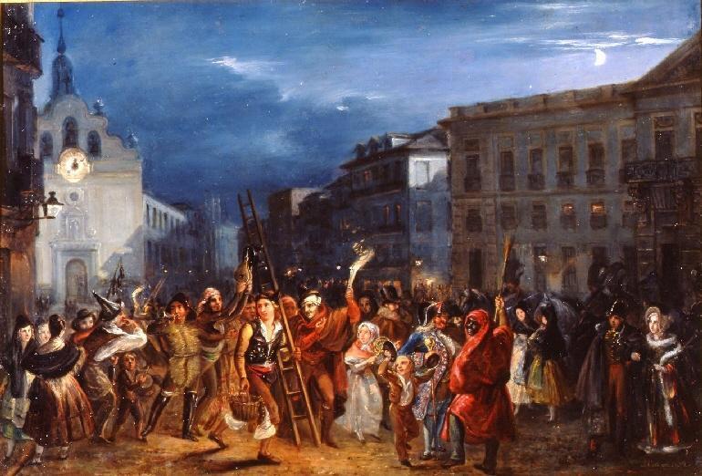 Memoriademadrid Los Reyes Magos Las Uvas Y La Puerta Del Sol