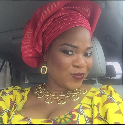 Actress Funke Etti Takes Coded Selfie With The Ooni Ogunwusi & His Angelic Wife