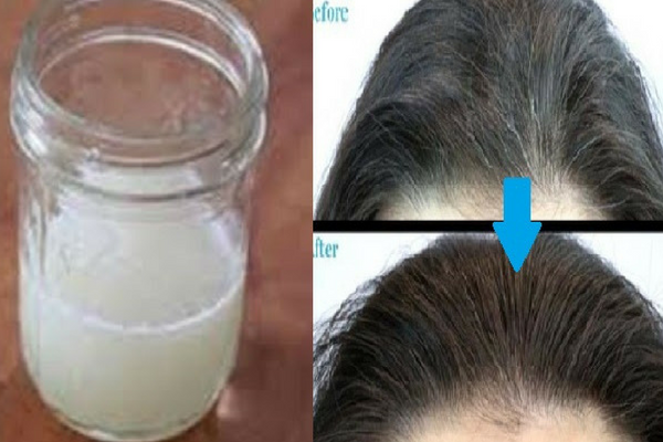 Hanya Dalam 15 Menit Rambut Putihmu Akan Hitam Kembali Dengan Resep Alami ini