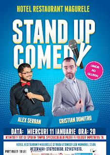 Stand-Up Comedy Miercuri 11 ianuarie Magurele