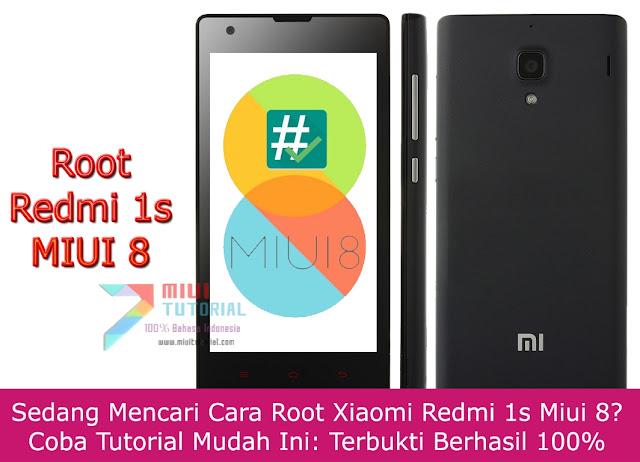 Sedang Mencari Cara Root Xiaomi Redmi 1s Miui 8? Coba Tutorial Mudah Ini: Terbukti Berhasil 100%