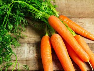 Làm trắng da bằng cà rốt