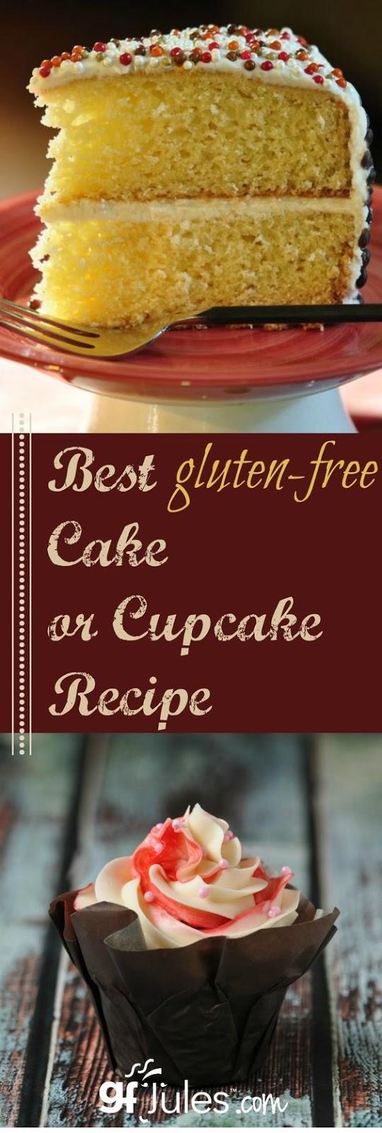 The Best Gluten Free Cake Recipe