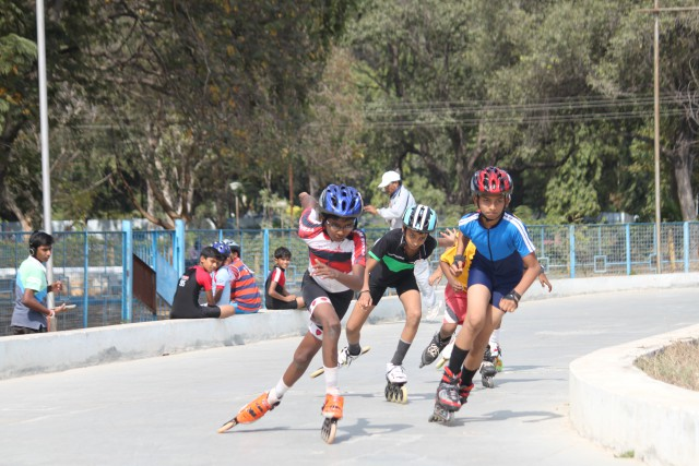 skating classes at lakdikapool in hyderabad Near Central Government Staff colony   bowenpally suchitra balanagar jubilee hills public school roller and  inline blade