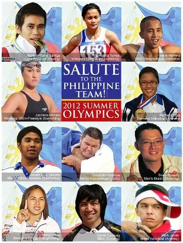 11 Filipino athletes go for gold to London Olympics
