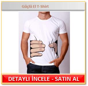 Güçlü El T-Shirt