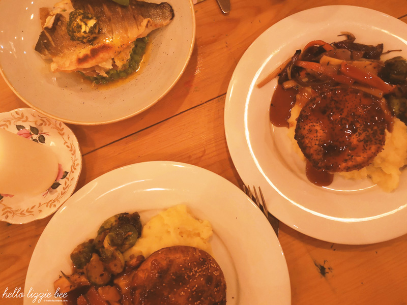 main dishes for cosy club christmas