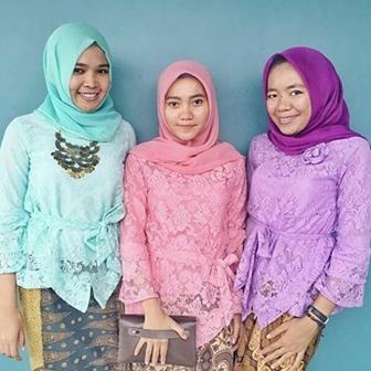 Model Baju Kebaya Modern Untuk Remaja Muslim