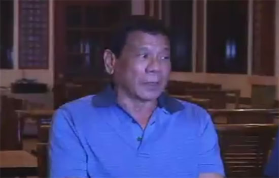 Duterte warns public against 'set-up' shabu factory in Davao