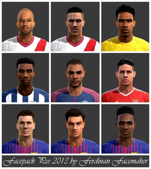 Sharp Facepack 2018 PES 2013