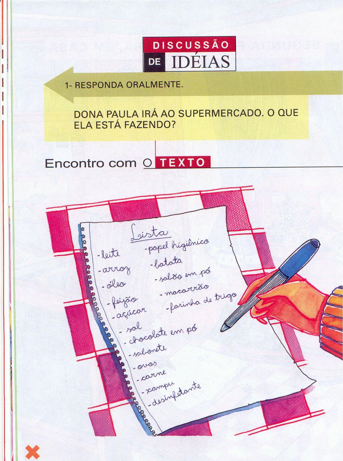 Atividades para Educação infantil Redação