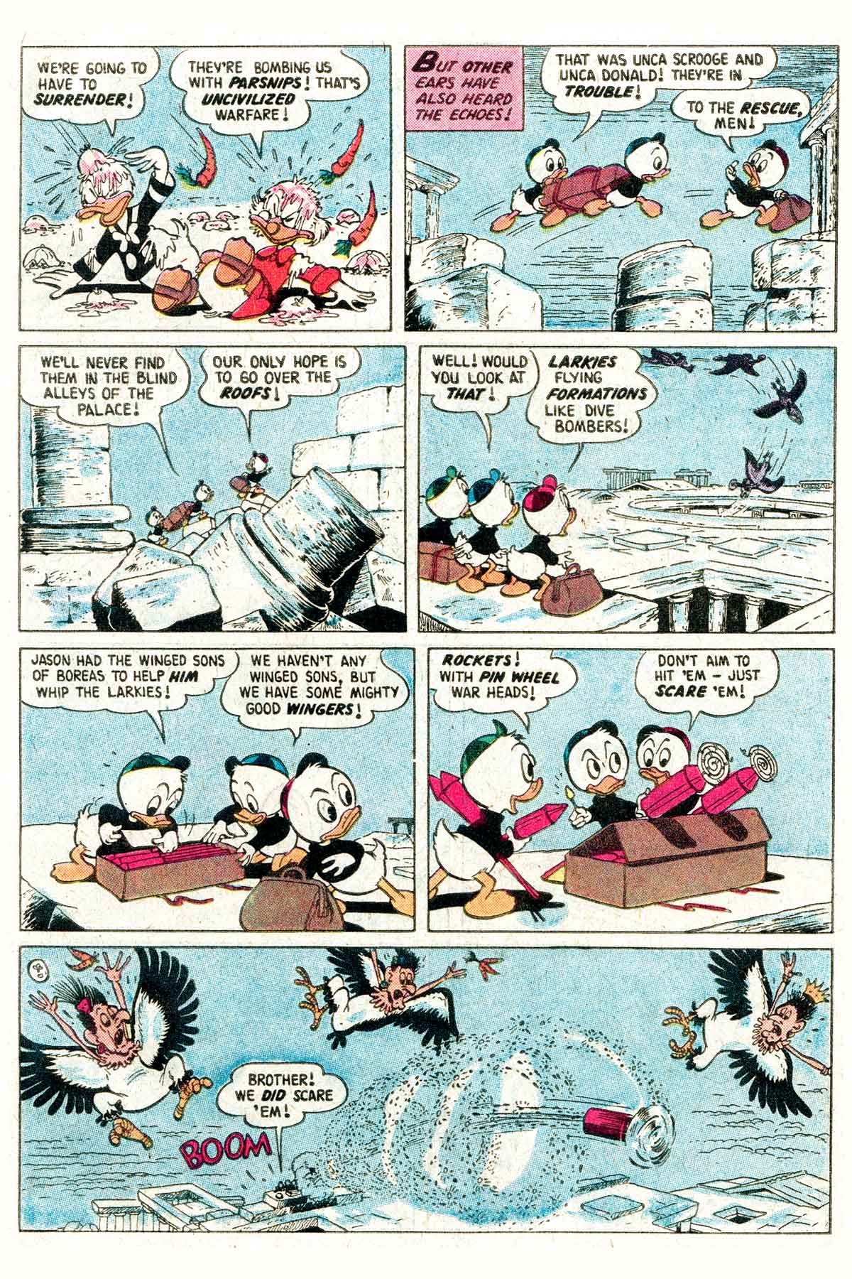 Read online Uncle Scrooge (1953) comic -  Issue #203 - 27