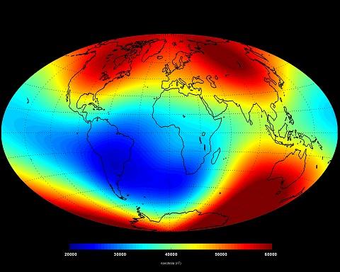 A Föld mágneses mezeje