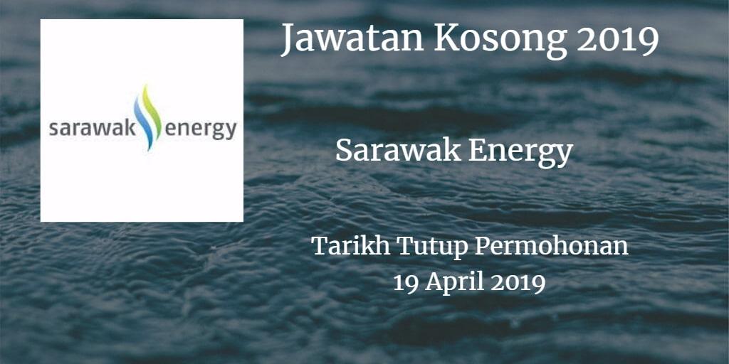 Jawatan Kosong Sarawak Energy 19 April 2019