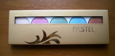 pastel professional eye pallette