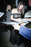 Alexandra Daddario Showing off her  in transparent top at Dior Addict Lacquer Pump Launch ~ Celebs.in Exclusive 003.jpg