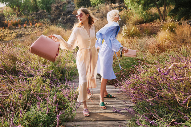 Lia Pavlova & Marjan Jonkman Model Charles & Keith SS18 Collection