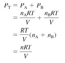 Kimia 5 6 Hukum Tekanan Parsial Dalton