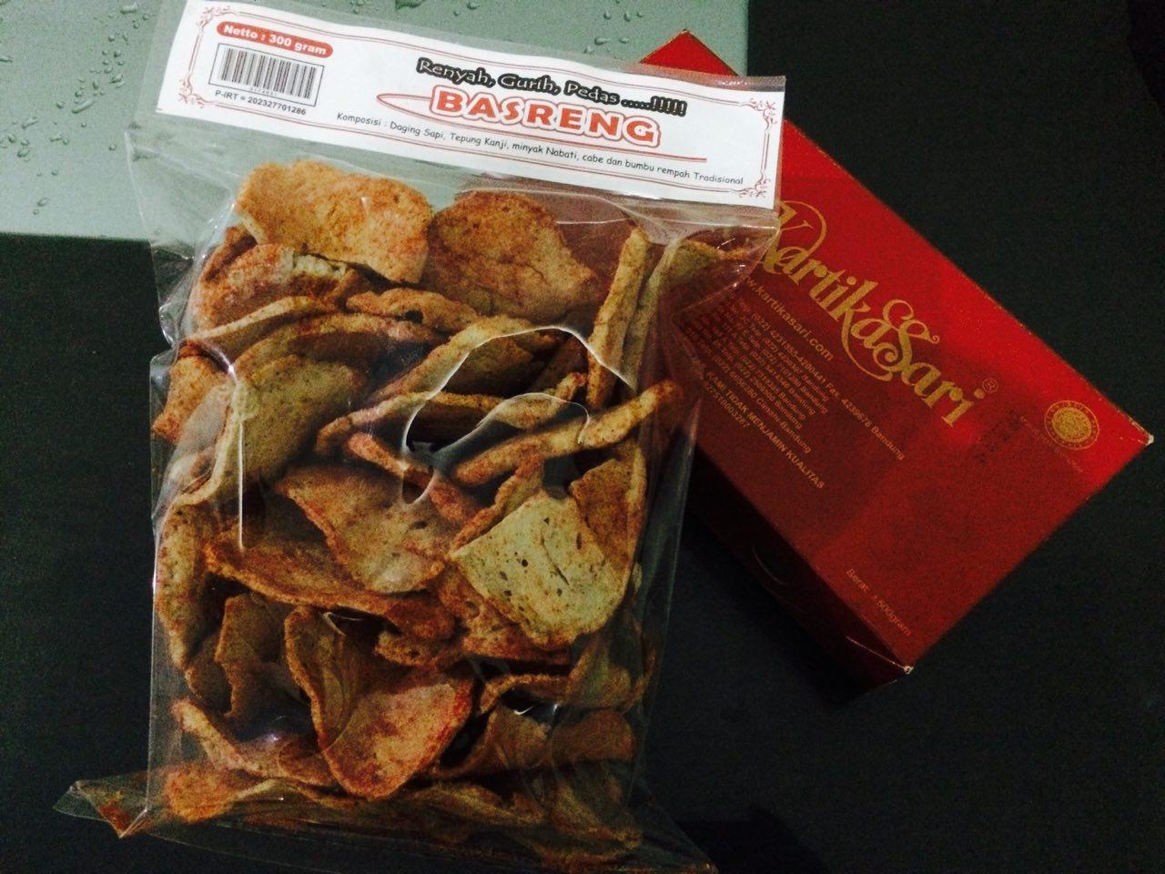 BASRENG, Bakso Goreng, Kuliner Bandung