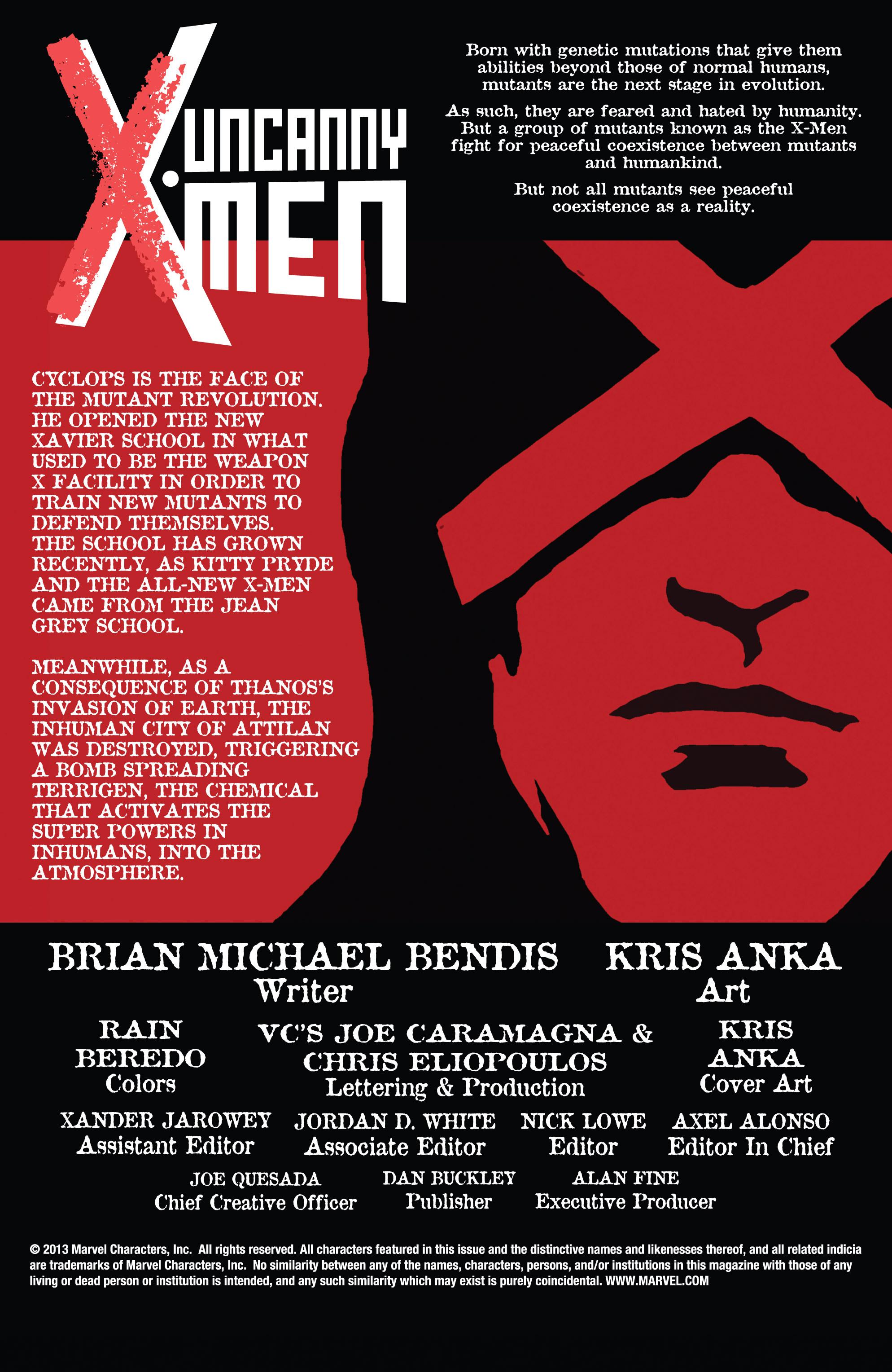 Read online Uncanny X-Men (2013) comic -  Issue #15 - 2