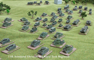 2nd place tied between: 11th Armoured Division, by fred12df - wins £10 Pendraken credit!