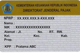 Pengertian NPWP (Nomor Pokok Wajib Pajak)