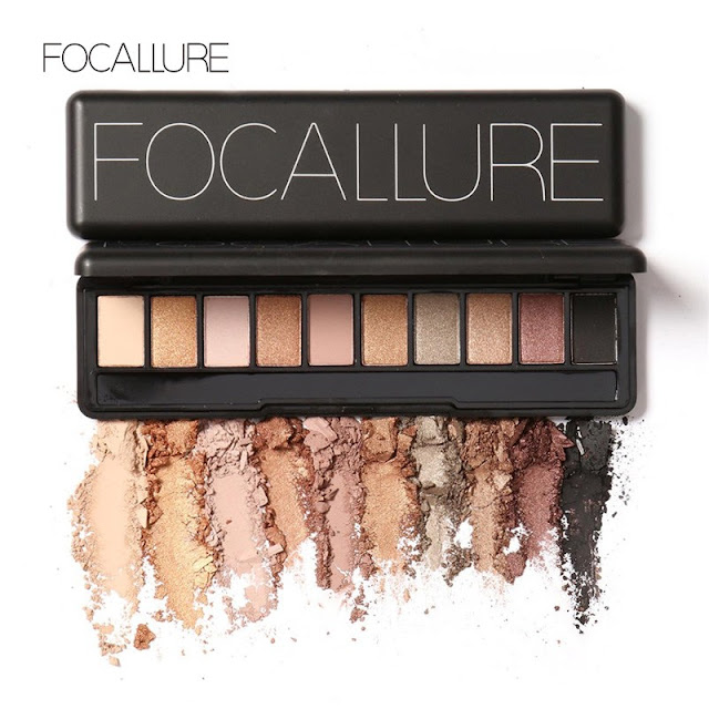 Review Focallure Naked Eyeshadow Palette Set ~ Rhythm of