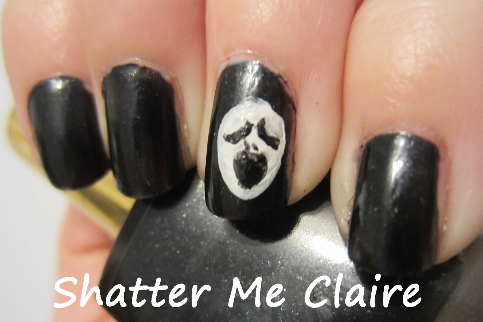 """Shatter me Claire: ... """"This is Halloween"""" Nail Art ..."""