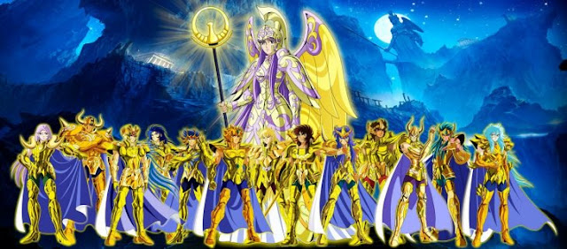 Katy Perry luce armadura de Caballeros del Zodiaco