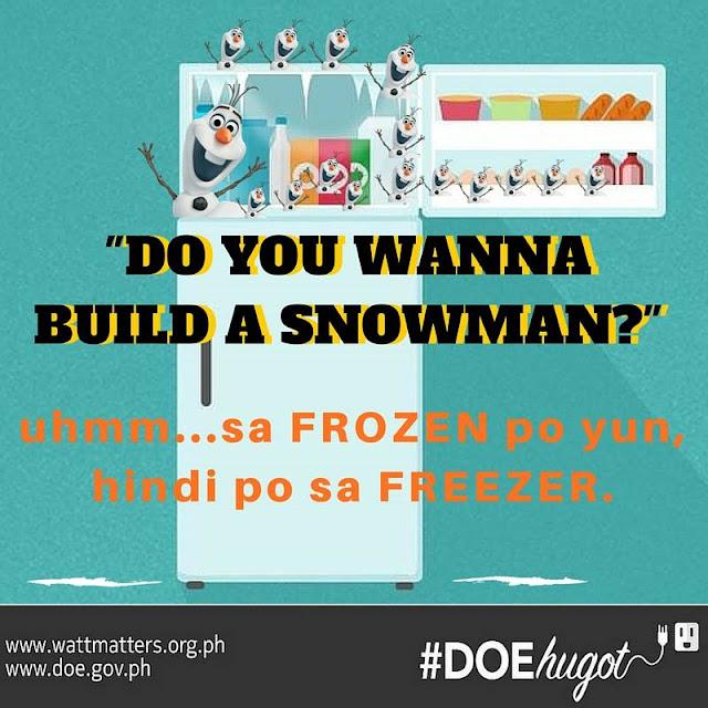 Philippine Department of Energy Hugot Lines Freezer