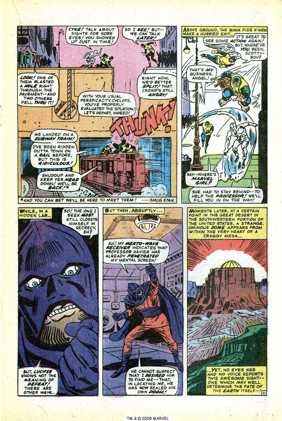 Uncanny X-Men (1963) issue 71 - Page 17