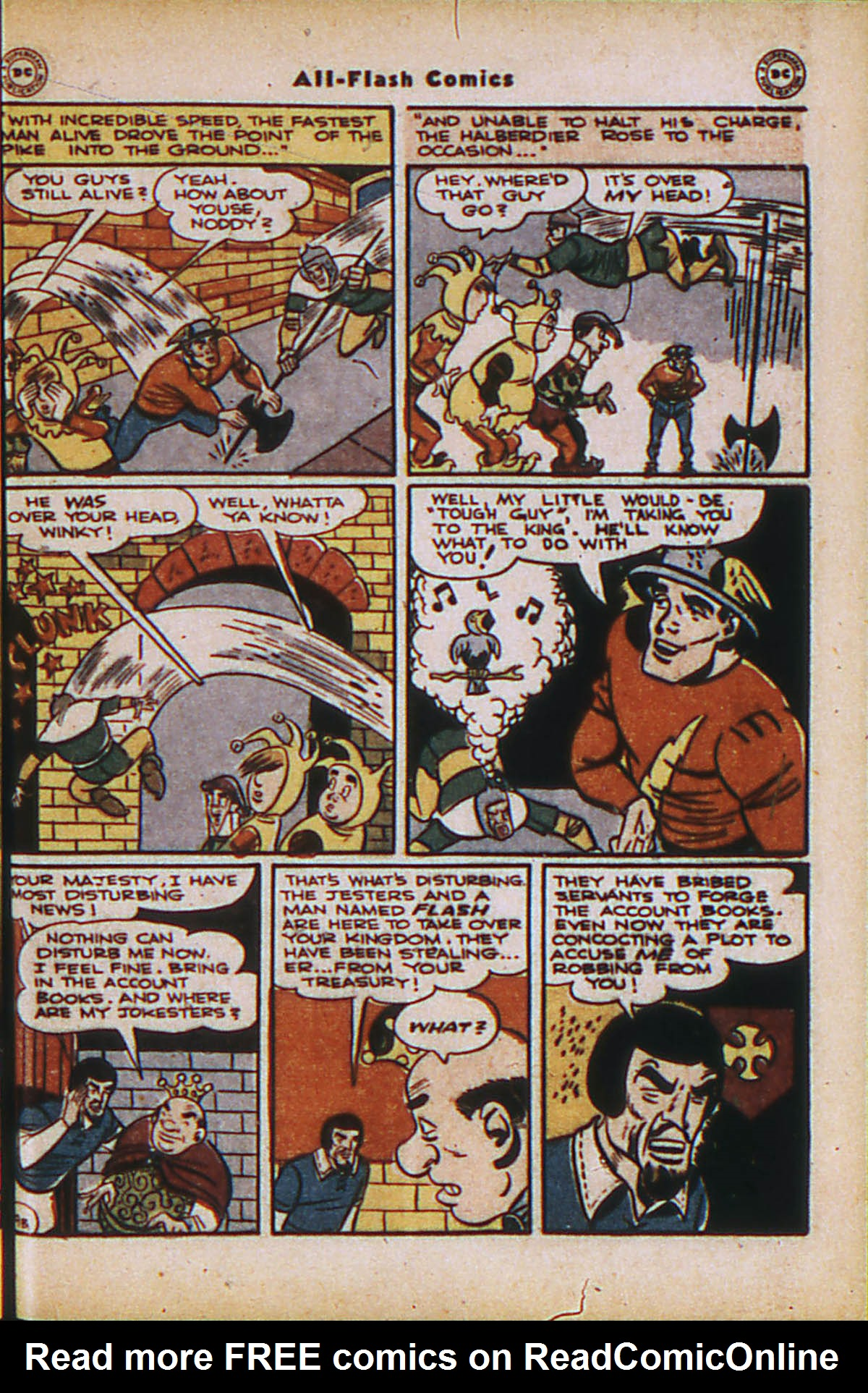 Read online All-Flash comic -  Issue #24 - 25