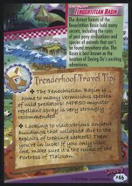 MLP Tenochtitlan Basin Series 4 Trading Card