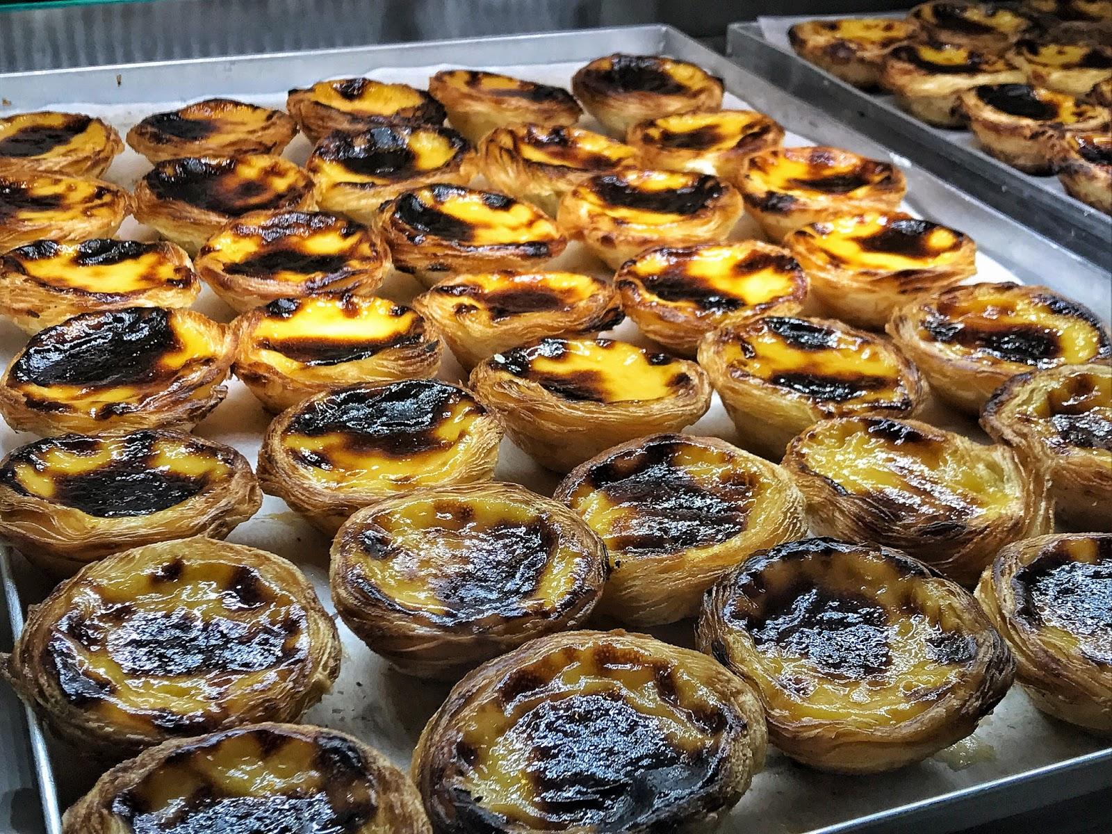 Lisbon's pasteis de nata cakes