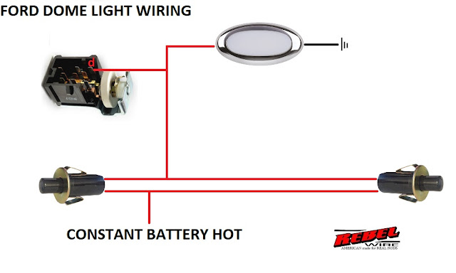 rebel wire: look!! wiring diagrams!!! 60 ford headlight switch diagram