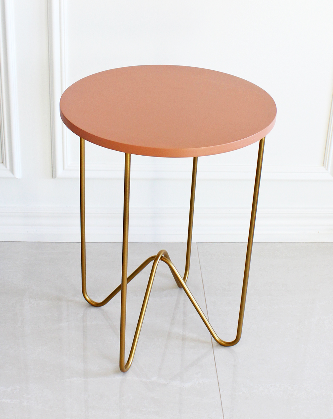 Nate Berkus Gold Coffee Table.Am Dolce Vita Style A Marble Tulip Side Table
