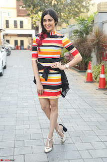 Adha Sharma in a Cute Colorful Jumpsuit Styled By Manasi Aggarwal Promoting movie Commando 2 (73).JPG