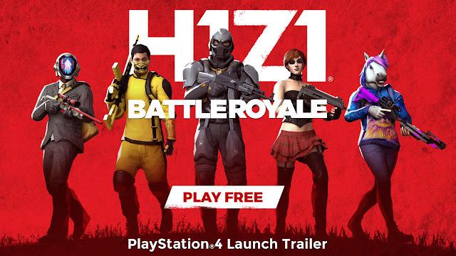 رسميا لعبة H1Z1: Battle Royale أصبحت جاهزة للإطلاق على جهاز PS4 و الكشف عن العرض الرسمي من هنا ..