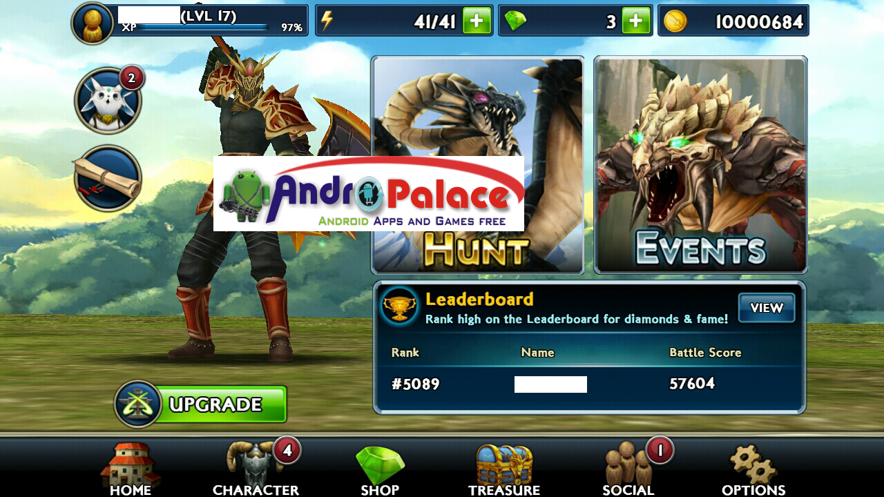 monster blade android hack apk