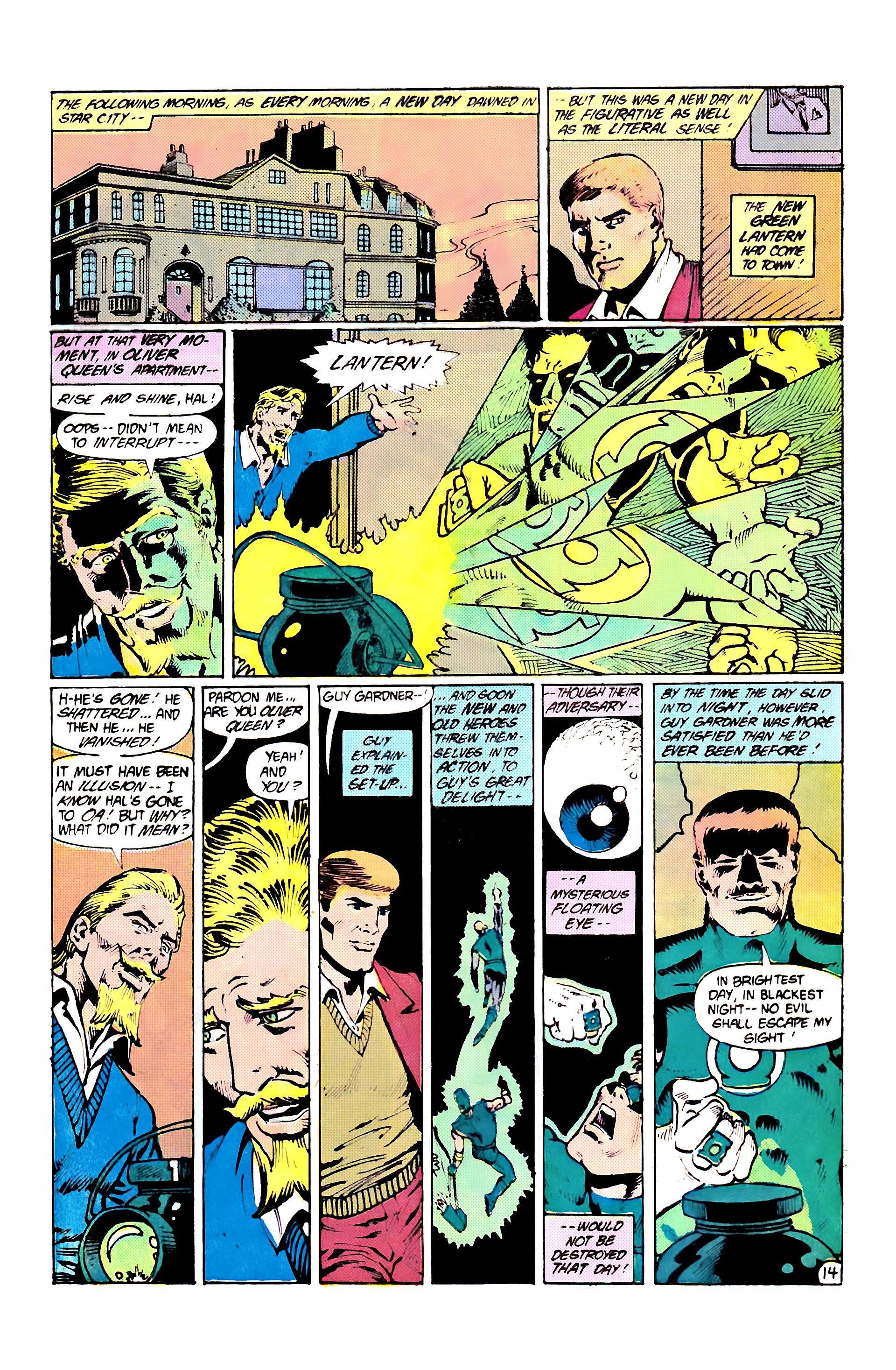 Read online Secret Origins (1986) comic -  Issue #7 - 20