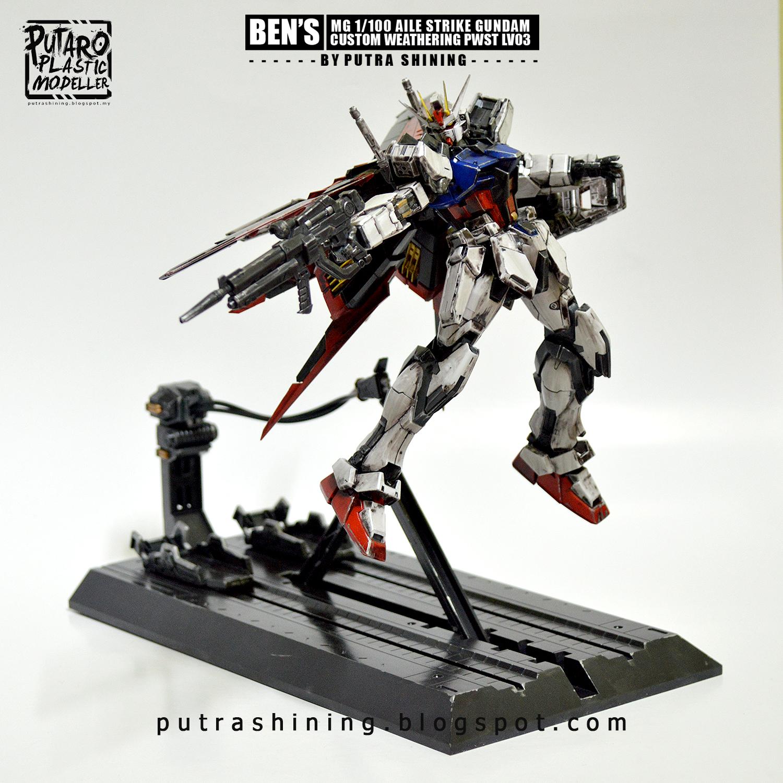 Mg 1 100 Gat X105 Aile Strike Gundam Ver Rm Custom Weather