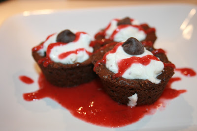 gluten free chocolate almond cookie cups