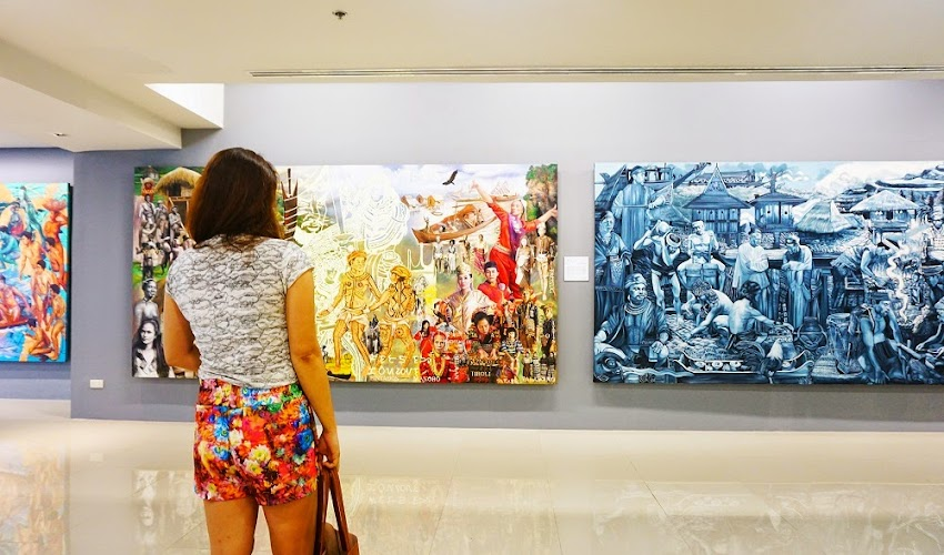 "SiningSaysay: The Journey of a Nation thru ""Philippine History in Art"" Exhibit at Gateway Art Gallery"